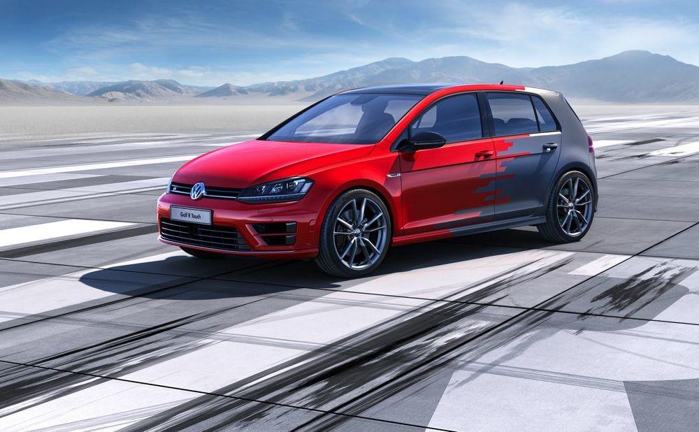 Volkswagen Golf R Touch: conceptul care face trecerea de la butoanele conservatoare la ecranele digitale - Poza 2