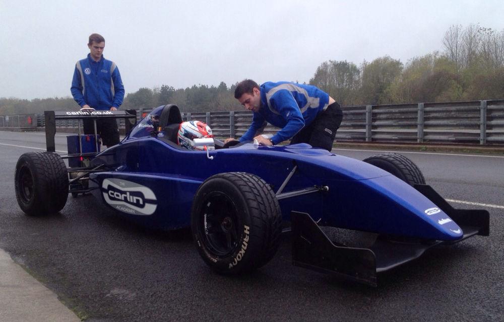 Petru Florescu va concura în sezonul 2015 în Formula 4 Marea Britanie - Poza 1