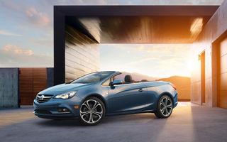 Buick Cascada - varianta americană a decapotabilei Opel a debutat oficial