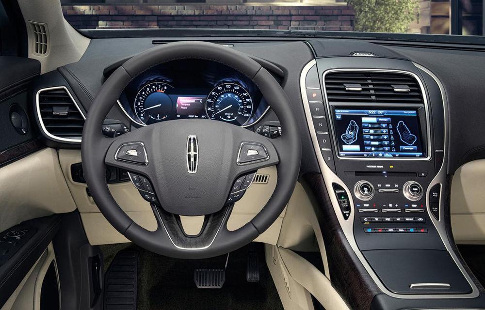 Lincoln MKX - primele imagini cu noua generație a SUV-ului american premium - Poza 5