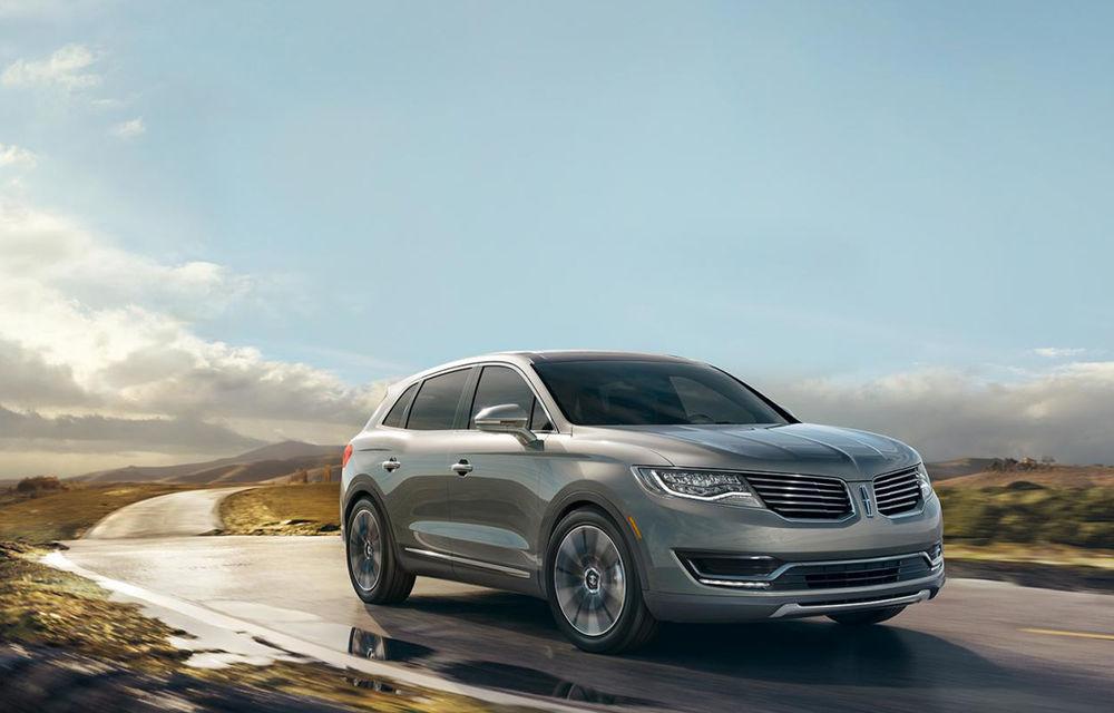 Lincoln MKX - primele imagini cu noua generație a SUV-ului american premium - Poza 1