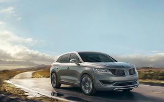 Lincoln MKX - primele imagini cu noua generație a SUV-ului american premium