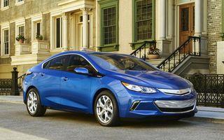 Chevrolet Volt a ajuns la a doua generaţie şi are o autonomie electrică de 80 de kilometri