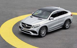 Mercedes-AMG GLE63 S Coupe este cea mai puternică versiune a noului crossover german