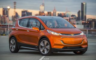 Chevrolet Bolt, conceptul unui  vehicul 100% electric, prezintă viitorul maşinilor electrice în viziunea mărcii americane