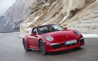 Porsche 911 Targa GTS sărbătoreşte 50 de ani de la primul model Targa