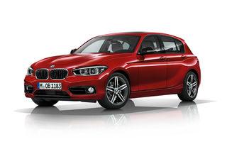 BMW Seria 1 facelift, imagini şi informaţii oficiale: transformare radicală