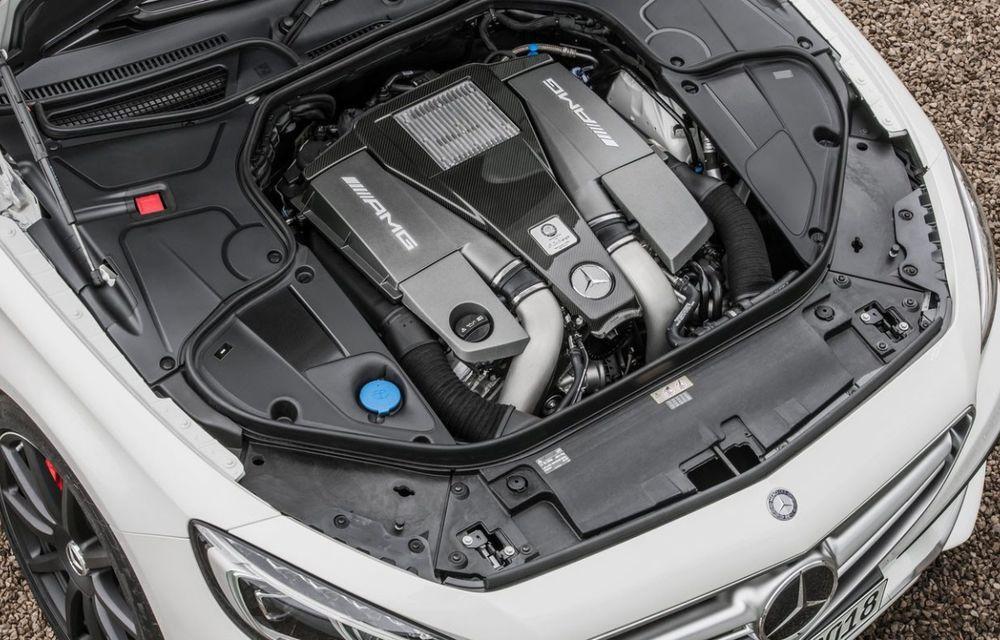 Mercedes AMG nu va mai lansa niciun model cu motorul V8 de 5.5 litri după anul 2016 - Poza 1
