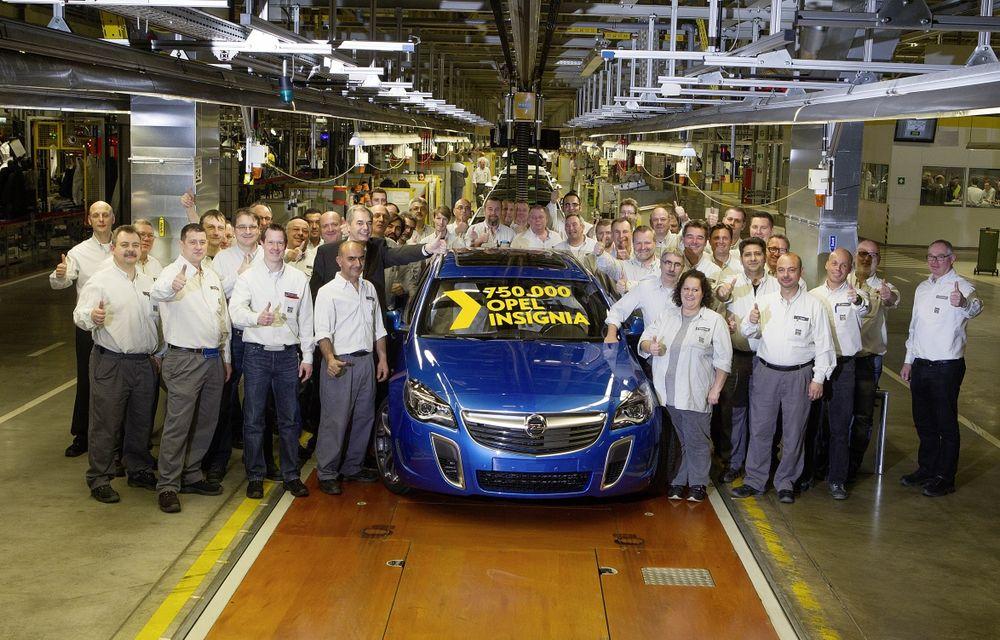 Opel Insignia a ajuns la 750.000 de unităţi fabricate - Poza 1