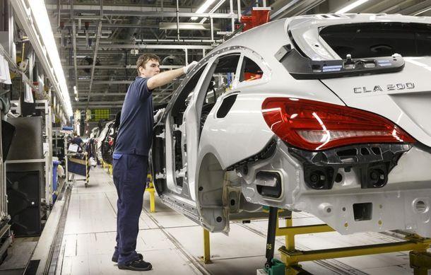 Mercedes-Benz CLA Shooting Brake a intrat în producţie la fabrica din Ungaria - Poza 5