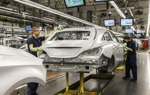 Mercedes-Benz CLA Shooting Brake a intrat în producţie la fabrica din Ungaria - Poza 4
