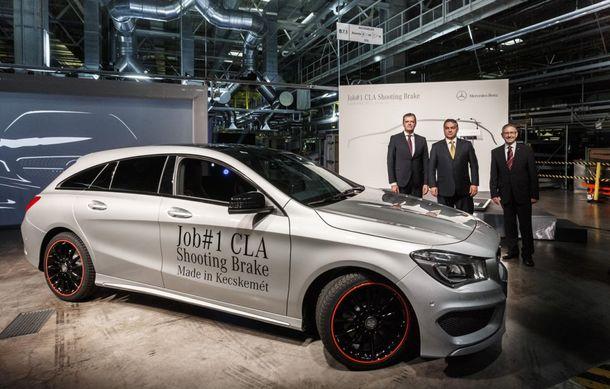 Mercedes-Benz CLA Shooting Brake a intrat în producţie la fabrica din Ungaria - Poza 6