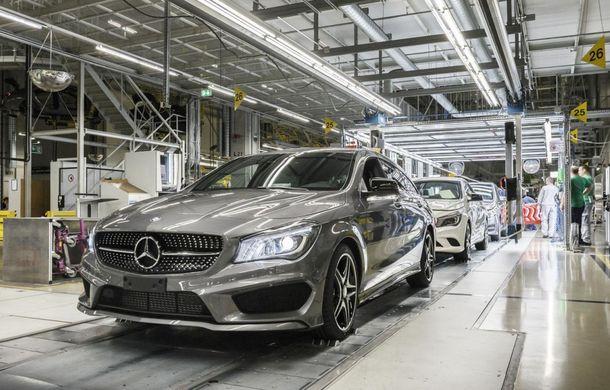 Mercedes-Benz CLA Shooting Brake a intrat în producţie la fabrica din Ungaria - Poza 7