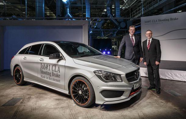 Mercedes-Benz CLA Shooting Brake a intrat în producţie la fabrica din Ungaria - Poza 2