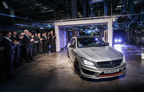 Mercedes-Benz CLA Shooting Brake a intrat în producţie la fabrica din Ungaria - Poza 3