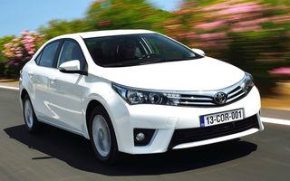 Toyota rămâne cel mai mare constructor din lume şi în 2014, cu un avans infim în faţa Volkswagen