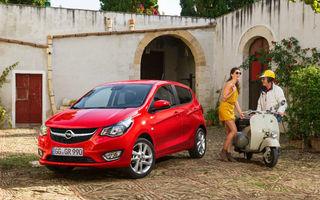 Opel pregătește o versiune electrică a lui Karl, cel mai nou model de oraș din gama proprie