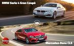 Duelurile zilei în Autovot 2015: Mercedes CLS vs. BMW Seria 4 Gran Coupe şi Ford Focus facelift vs. Ssangyong Korando facelift