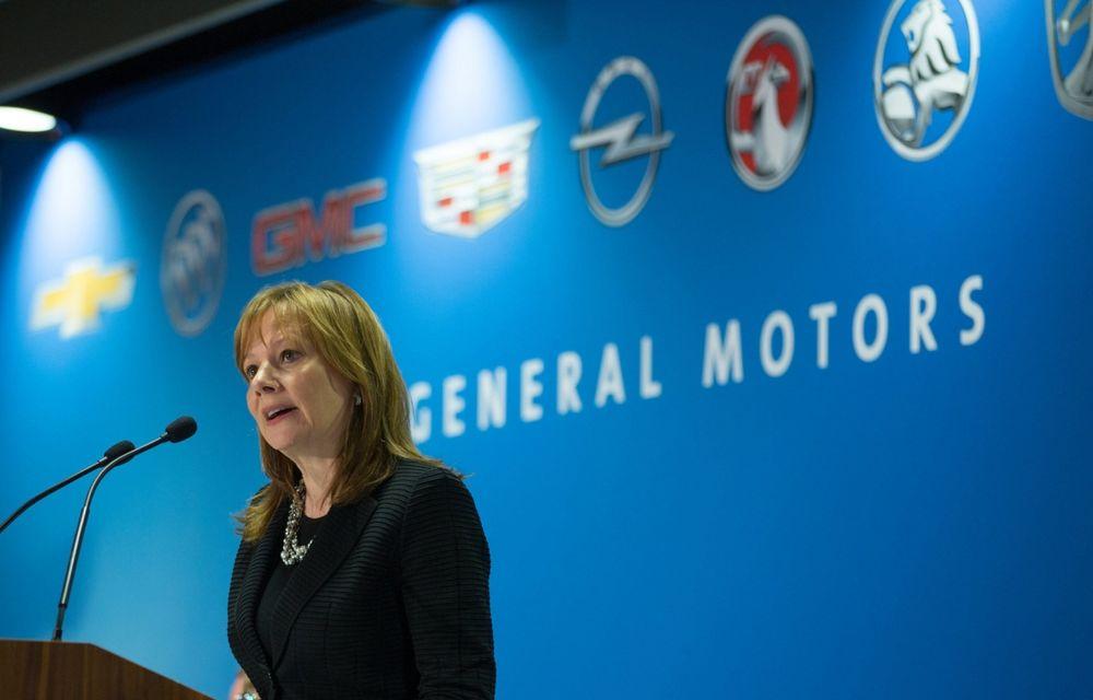 """CEO-ul GM: """"Nu regretăm închiderea mărcilor Pontiac, Saab, Hummer şi Saturn şi nici nu vom reveni asupra deciziei"""" - Poza 1"""