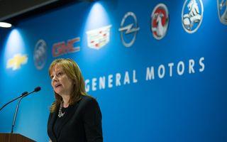 """CEO-ul GM: """"Nu regretăm închiderea mărcilor Pontiac, Saab, Hummer şi Saturn şi nici nu vom reveni asupra deciziei"""""""