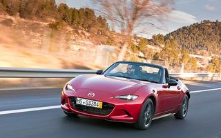 Mazda MX-5 își dezvăluie primele detalii tehnice oficiale