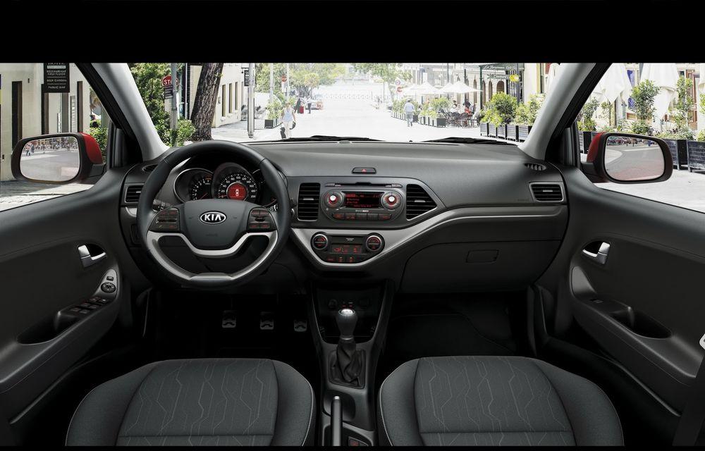 Kia Picanto facelift va debuta luna viitoare - Poza 14