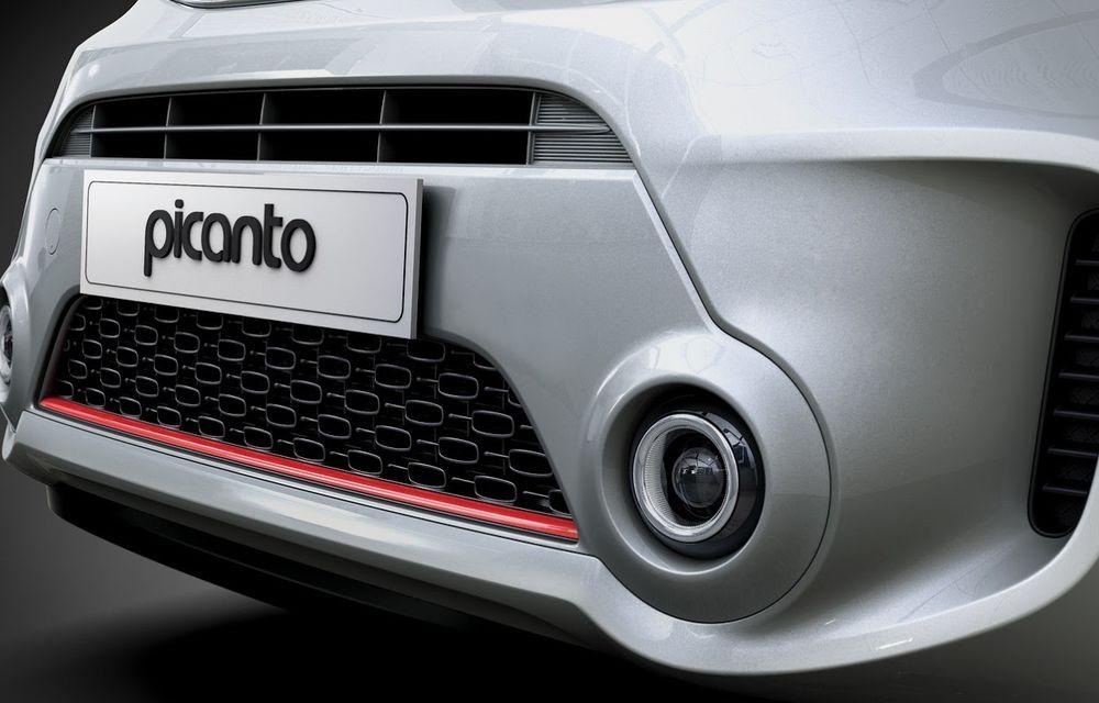 Kia Picanto facelift va debuta luna viitoare - Poza 10