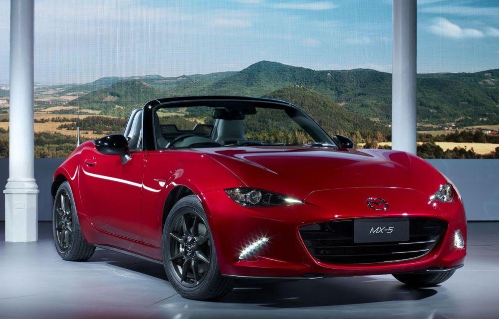 Mazda MX-5 ar putea fi oferit şi în versiuni turbo - Poza 1