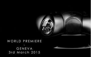 Morgan pregăteşte un model special în martie, cu ocazia Salonului de la Geneva