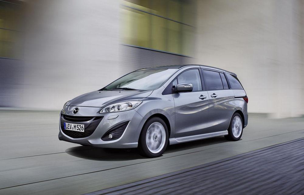 Mazda5 se pregăteşte să-şi încheie cariera şi nu va primi un succesor - Poza 1