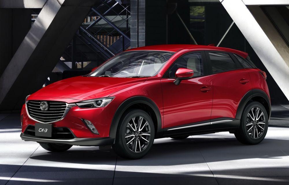 Mazda CX-3 debutează în Europa în luna martie - Poza 1
