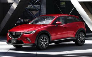 Mazda CX-3 debutează în Europa în luna martie