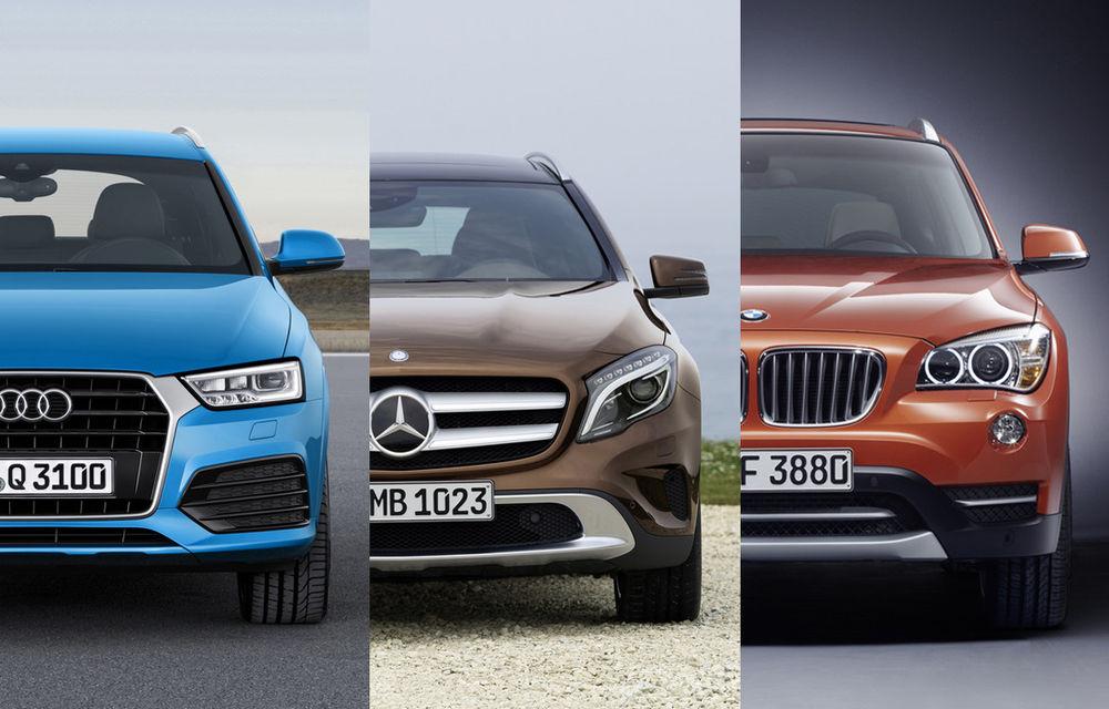 Vânzări premium ianuarie 2015: Audi şi Mercedes-Benz depăşesc BMW la nivel mondial - Poza 1