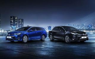 Noul Toyota Avensis: design 100% european şi motoare mai eficiente (Update foto, info)