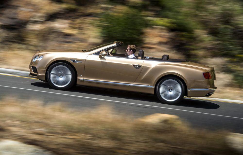 Bentley Continental GT şi Flying Spur primesc un facelift minor - Poza 11