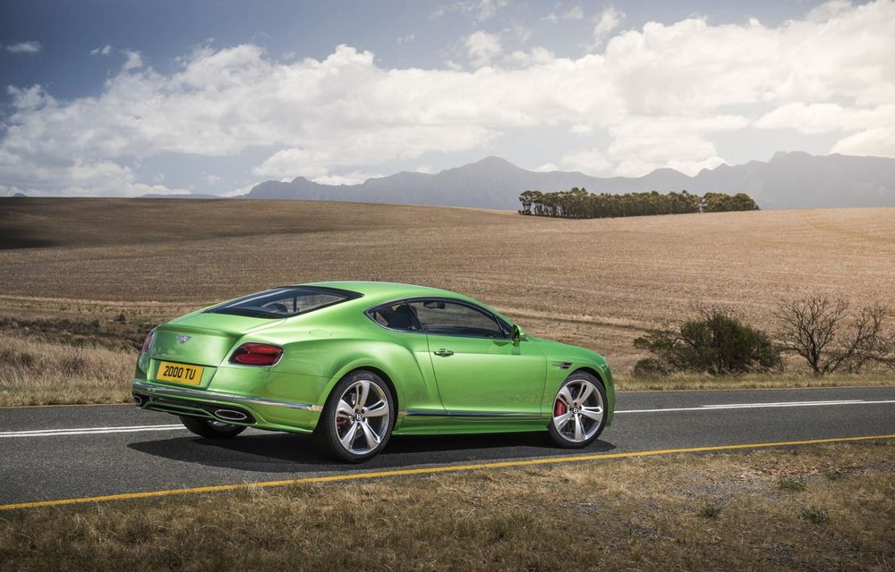 Bentley Continental GT şi Flying Spur primesc un facelift minor - Poza 16