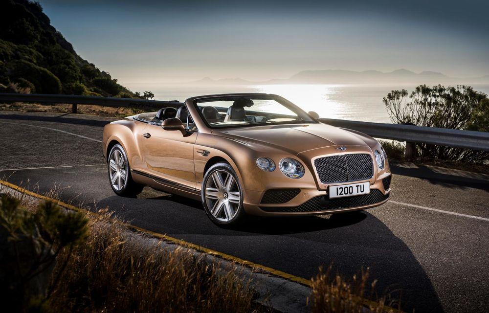 Bentley Continental GT şi Flying Spur primesc un facelift minor - Poza 14