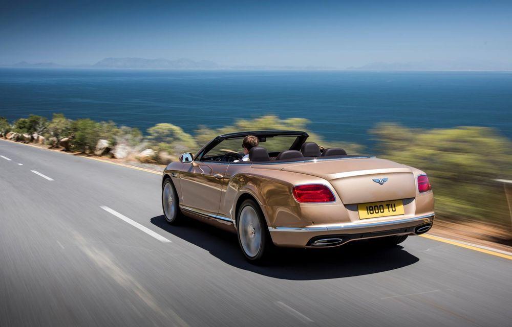 Bentley Continental GT şi Flying Spur primesc un facelift minor - Poza 23