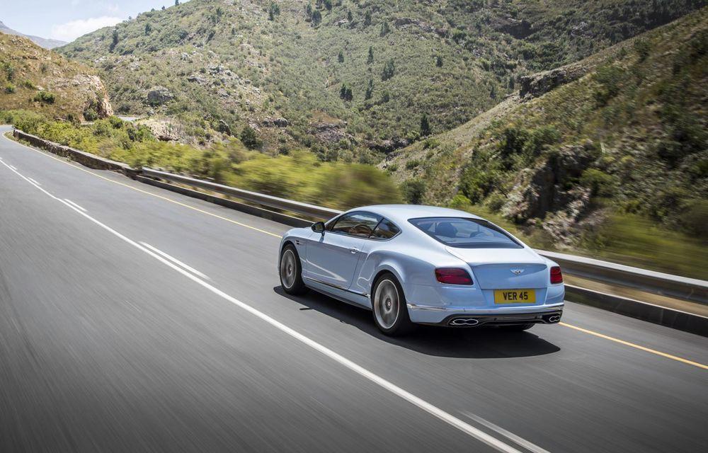 Bentley Continental GT şi Flying Spur primesc un facelift minor - Poza 26