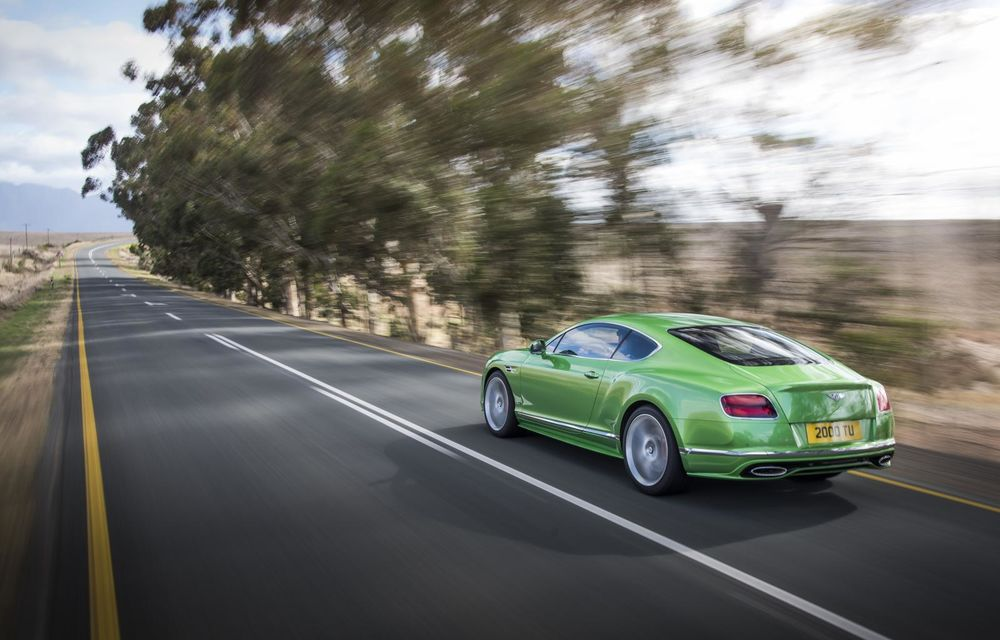 Bentley Continental GT şi Flying Spur primesc un facelift minor - Poza 2