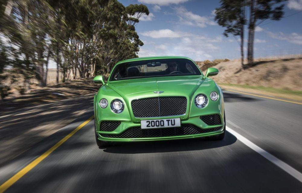 Bentley Continental GT şi Flying Spur primesc un facelift minor - Poza 1