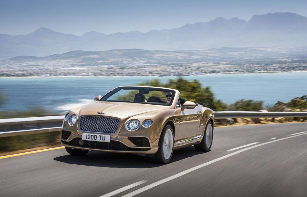Bentley Continental GT şi Flying Spur primesc un facelift minor - Poza 22