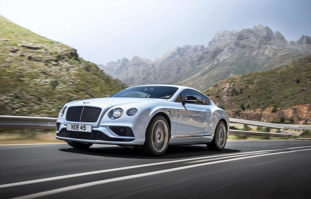 Bentley Continental GT şi Flying Spur primesc un facelift minor - Poza 10