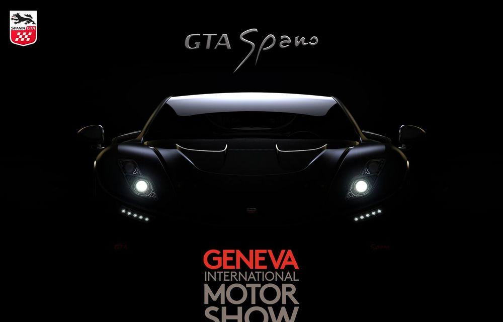 Spaniolii recidivează cu un supercar îmbunătăţit: GTA Spano are acum 925 de cai putere - Poza 2