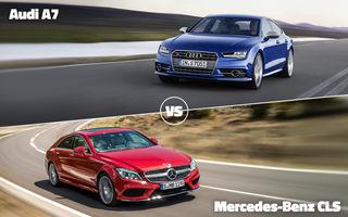 Autovot 2015, primele semifinale: Audi A7 vs. Mercedes CLS la Premium, VW Passat vs. VW Golf Sportsvan la Accesibile