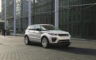 Range Rover Evoque facelift: design agresiv şi un nou motor turbodiesel din gama Ingenium