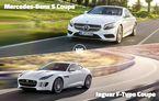 Astăzi se decid ultimii finalişti: Mercedes-Benz S-Klasse Coupe vs Jaguar F-Type şi VW Touareg vs Mazda6 facelift
