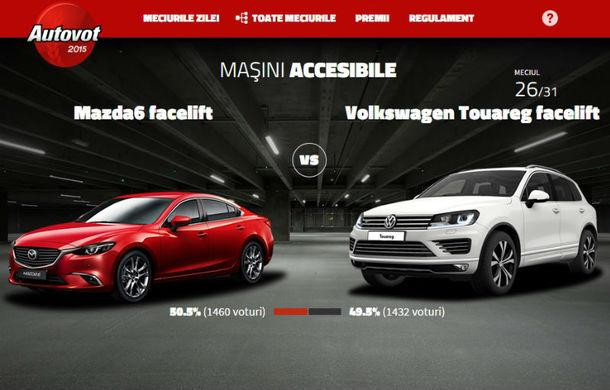 Autovot şi-a desemnat finaliştii după dueluri la sânge: Mazda6 şi Audi A7 Sportback au avut cele mai dificile meciuri - Poza 2