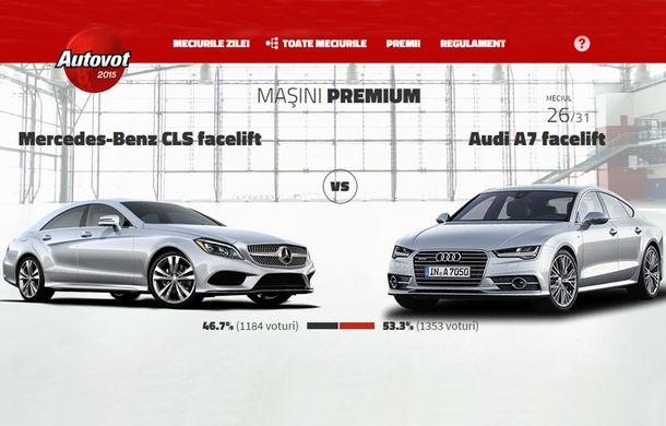 Autovot şi-a desemnat finaliştii după dueluri la sânge: Mazda6 şi Audi A7 Sportback au avut cele mai dificile meciuri - Poza 1