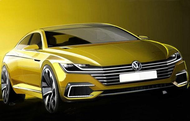 Volkswagen CC - prima imagine teaser a conceptului care prefigurează următoarea generaţie - Poza 1